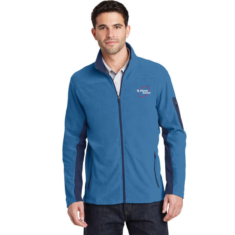 St. Dennis, F233  Port Authority® Sweater Fleece Jacket