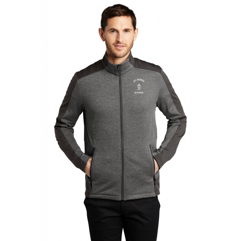 F239  Port Authority® Ladies Grid Fleece Jacket