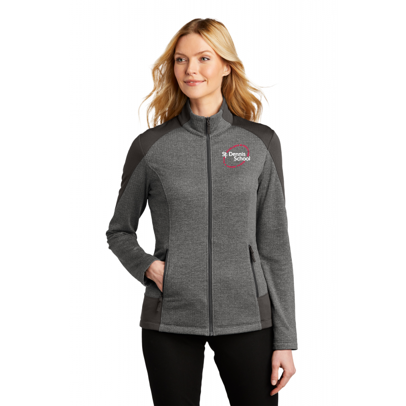 L239  Port Authority® Ladies Grid Fleece Jacket
