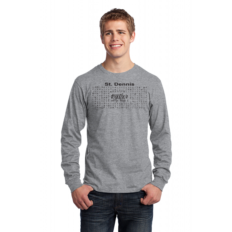 TOGETHER,PC54LS  Port & Company® Long Sleeve Core Cotton Tee