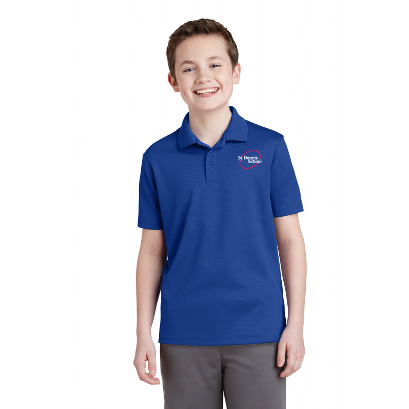 St. Dennis,YST640 Sport-Tek® Youth PosiCharge® RacerMesh® Polo