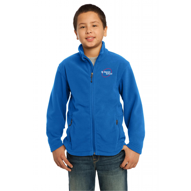 Y217, St.Dennis, Youth Value Fleece Jacket